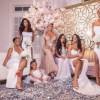 Cynthia Bailey and her Bridesmaids