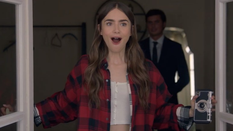 lily collins in emily in paris netflix