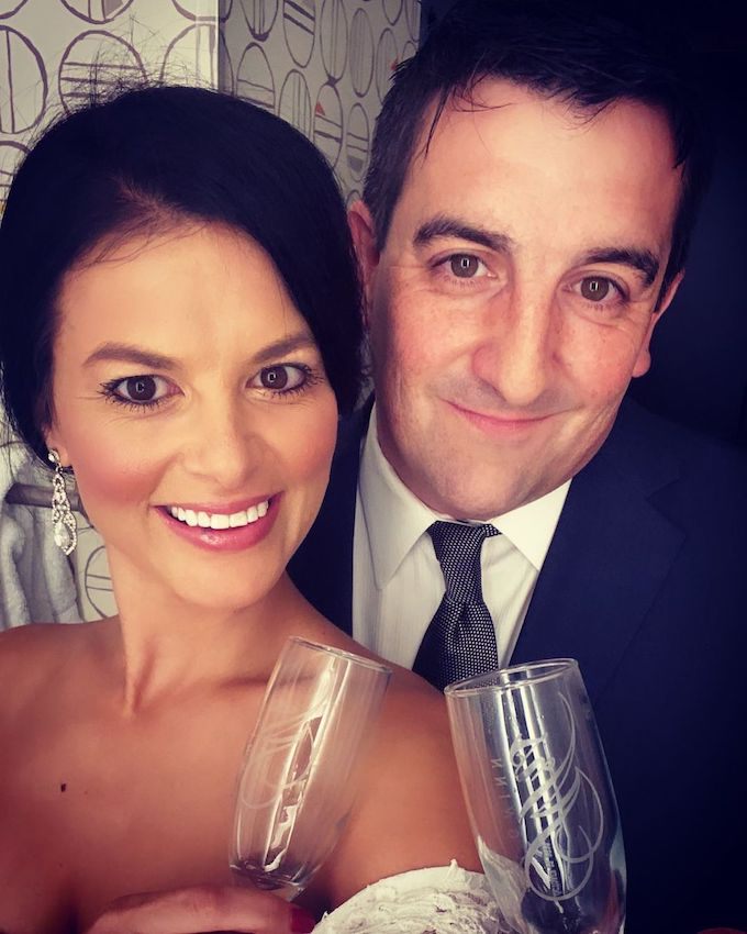 tori hall fioreniza shares instagram wedding pic