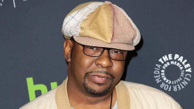 Bobby Brown on the red carpet