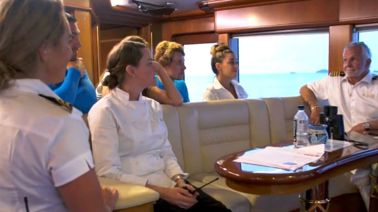 Below Deck's Captain Lee dishes crew crying in Season 8 of Bravo show.