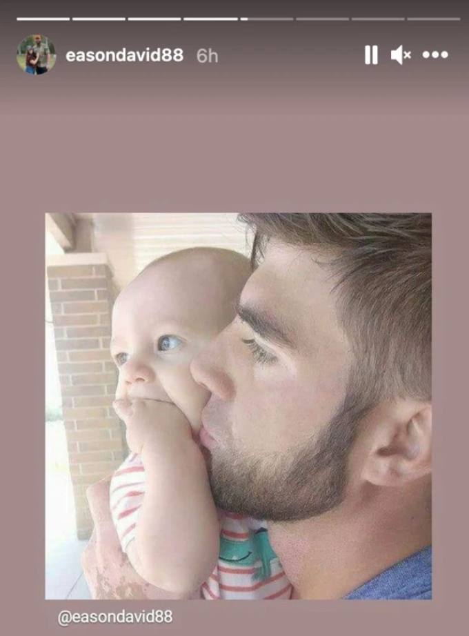 David Eason posts photos of son Kaden and vows to regain custody