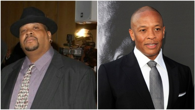 Doctor Dre and Dr. Dre pose for pics
