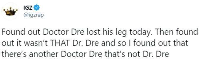 Fan explains Dre confusion