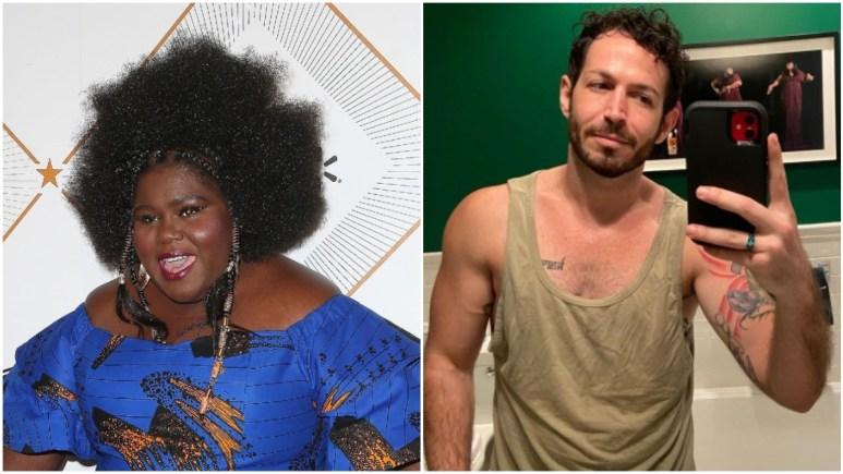 Gabby Sidibe and Brandon Frankel