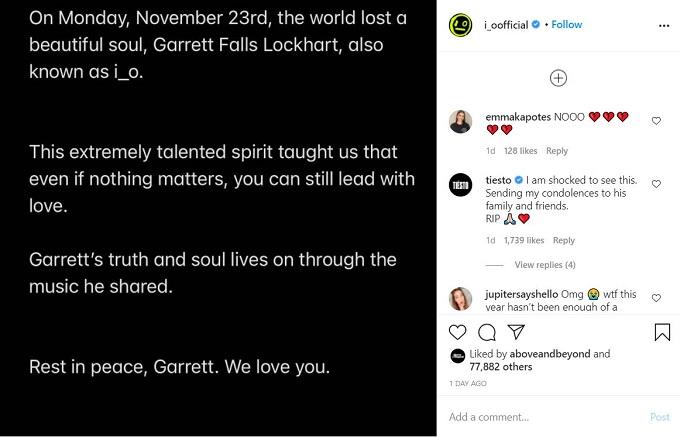 Garrett Falls Lockhart Instagram