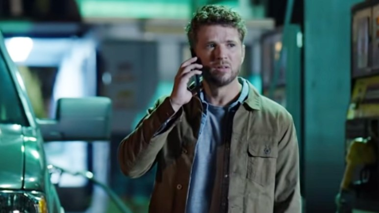 Ryan Phillippe on the set of Big Sky