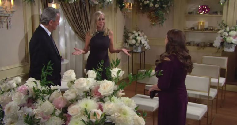 the Young and the Restless spoilers tease a wedding brings the good people of Genoa City together.