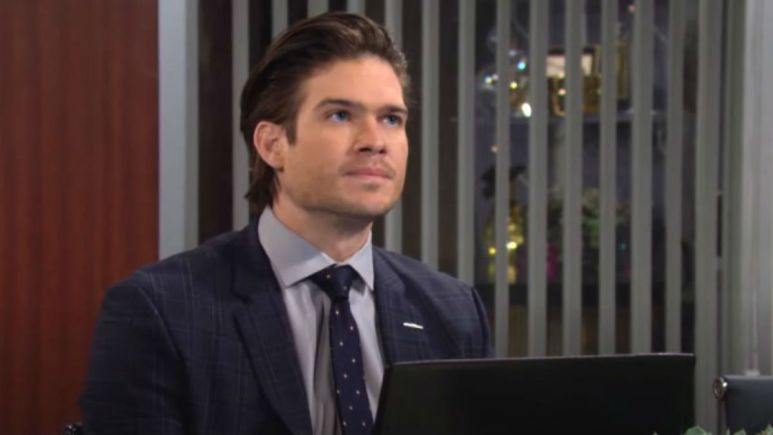 The Young and the Restless casting news: Tyler Johnson out as Theo Vanderway.