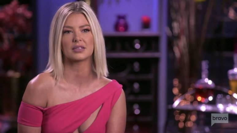 Ariana Madix speaks during a confessional interview for Vanderpump Rules