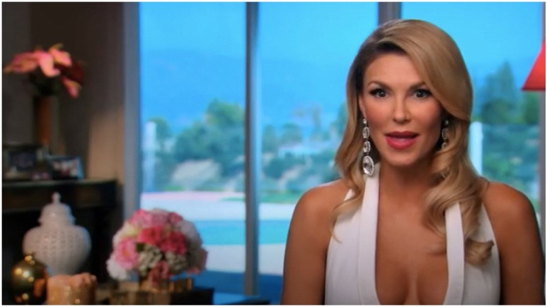 Brandi Glanville on The Real Housewives of Beverly Hills.