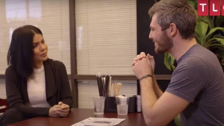 Larissa Lima and Eric Nichols film for 90 Day Fiance.