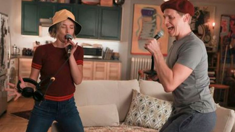 Maggie and Jamie sing on A Million Little Things