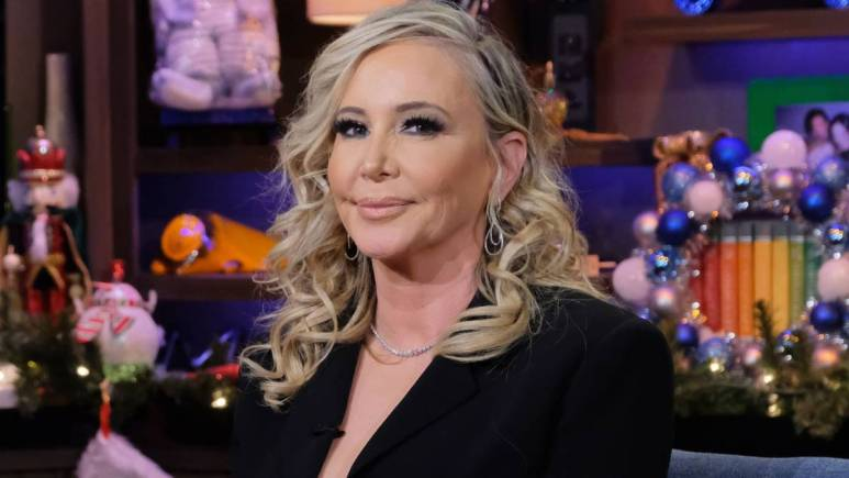 Shannon Beador sits for an interview on Watch What Happens Live.