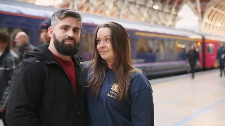 90 Day Fiance couple Rachel and Jon
