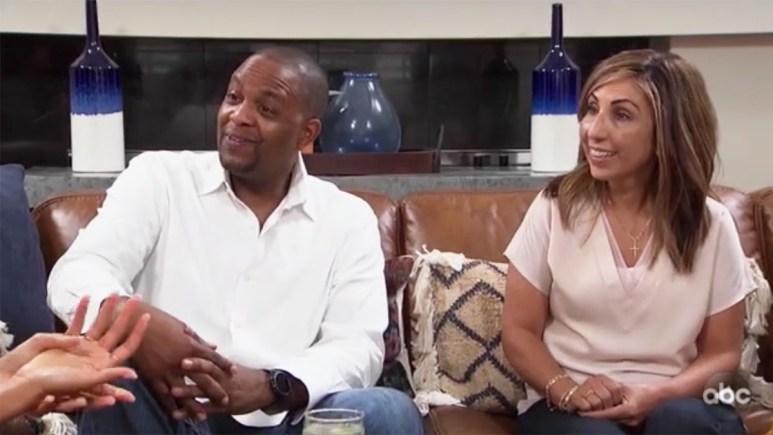 The Bachelorette Tayshia Adams parents