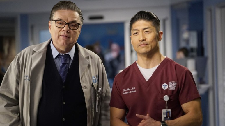 Oliver Platt as Daniel Charles and Brian Tee as Ethan Choi help lead Chicago Med cas