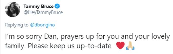Tammy Bruce tweets sympathy