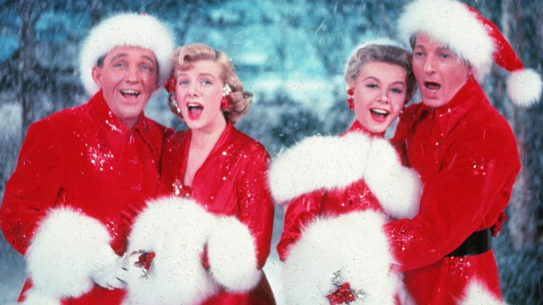 The Cast of White Christmas