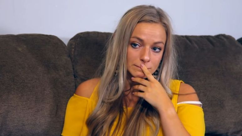 Mackenzie McKee during an episode of Teen Mom OG