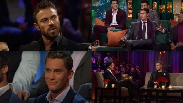 Dramatic moments from The Bachelorette: The Men Tell All