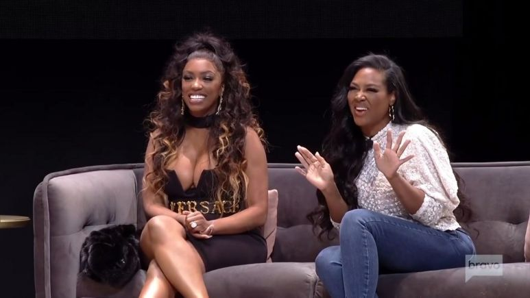 Kenya Moore admits that her friendship with RHOA co-star Porsha has taken a turn for the worst