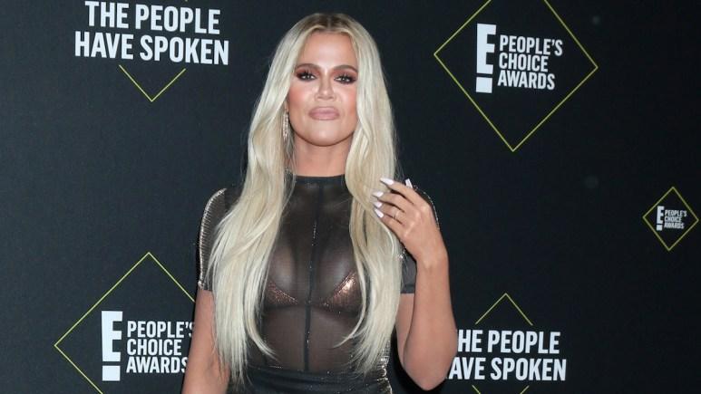 Khloe Kardashian at 2019 People's Choice Awards
