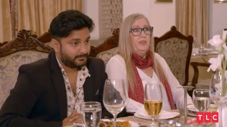 90 Day Fiance: The Other Way couple Jenny Slatten and Sumit Singh