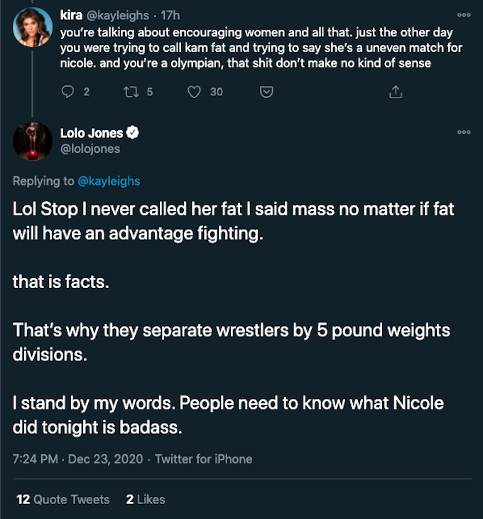 lolo jones tweets to fan about daily challenge injury