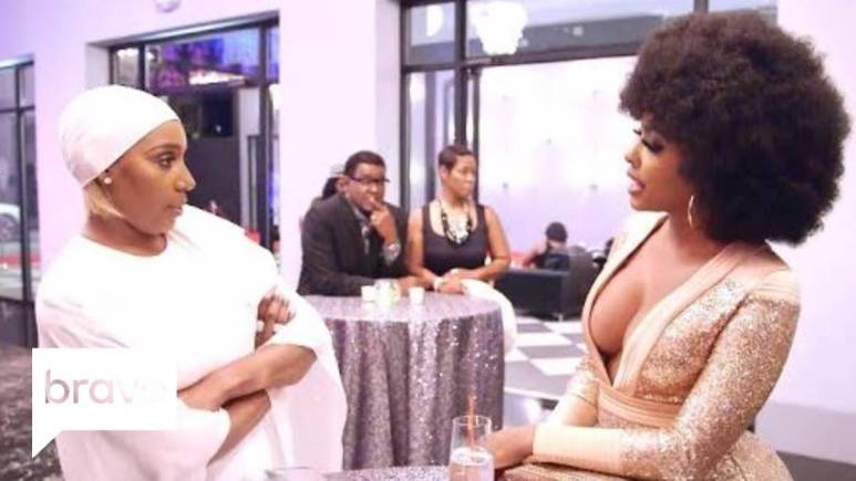 Nene Leakes and Porsha get into it during the beginning of Season 10.