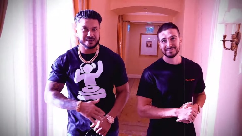 pauly d vinny trouble shot at love on jersey shore family vacation