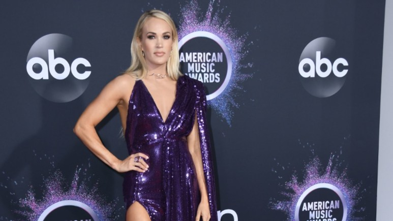 Carrie Underwood at the AMAs