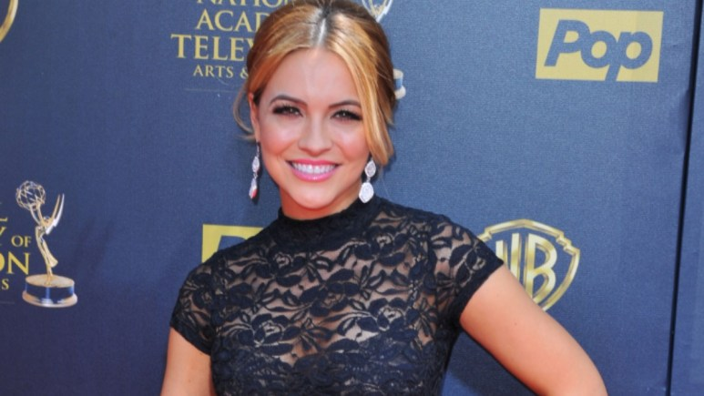 Chrishell Stause at the 2015 Daytime Emmys.