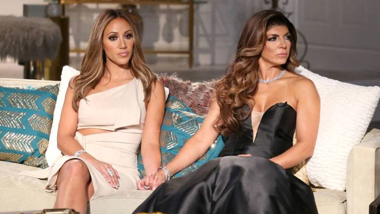 Teresa and sister-in-law make up at the RHONJ Season 7 reunion after years of feuding.