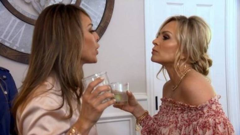 Tamra Judge and Kelly Dodd fight while filming RHOC.