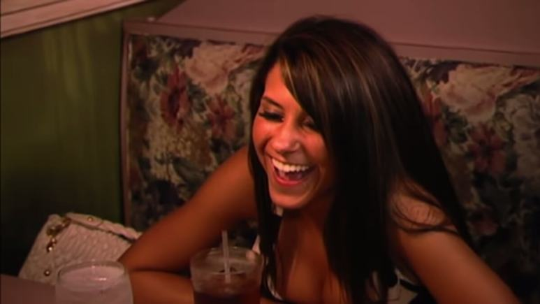 Paula on season 6 of Jersey Shore. Pic credit: MTV