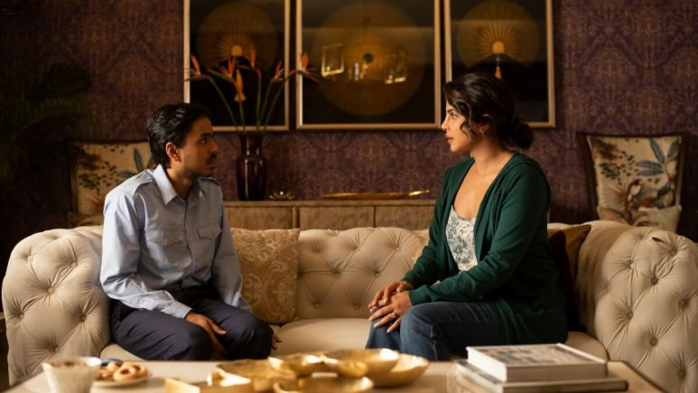 Adarsh Gourav as Balram, Priyanka Chopra as Pinky Madam