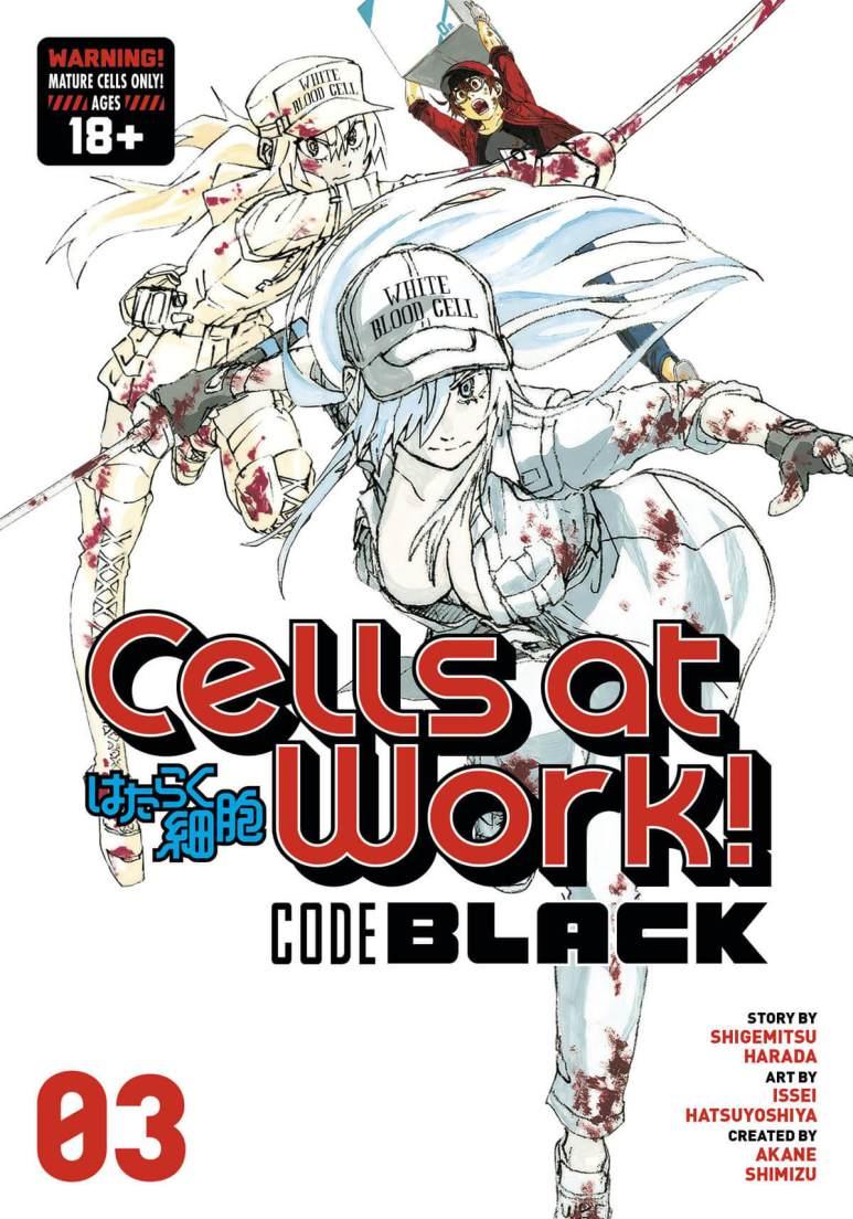 Hataraku Saibou Black Volume 3