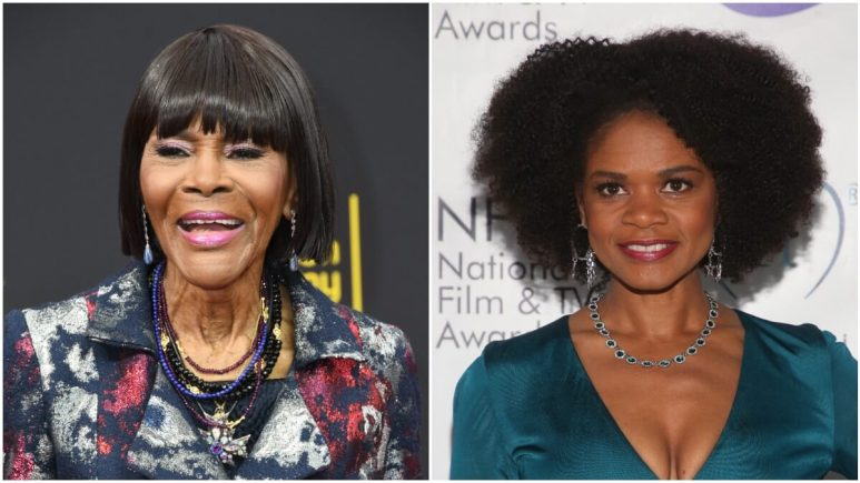 Cicely Tyson and Kimberly Elise on the red carpet