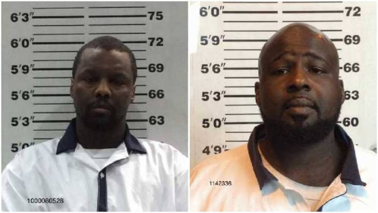 Mugshots of Jason Ardis and Quentin Cooks