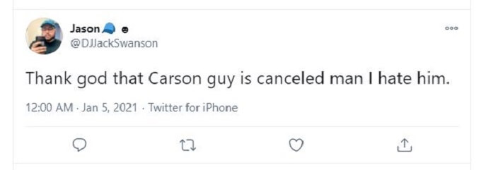 Jason tweet