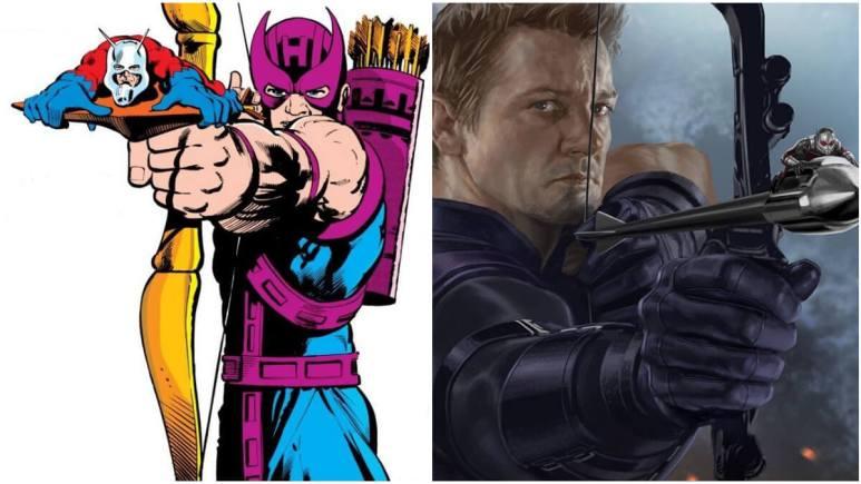 Marvel side by side images