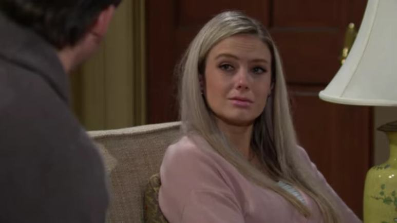 Melissa Ordway as Abby on The Young and Restless.