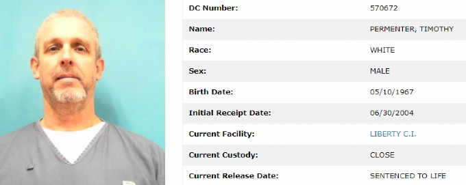 Timothy Permenter prison info