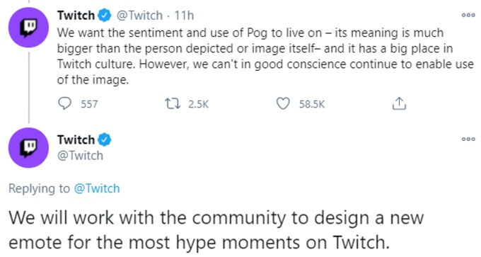 Twitch promises a new emote in tweet