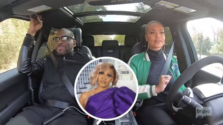 RHOA newbie Drew Sidora says Jamal and Gizelle Bryant are together and in love