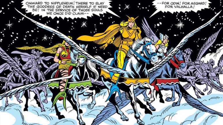 Valkyries in Thor