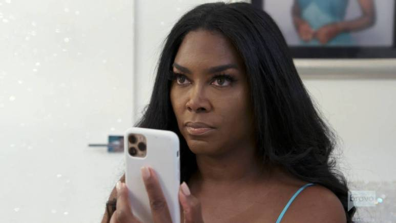 Kenya Moore was uninvited from Porsha Williams' surprise party.