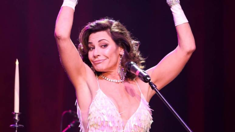 Luann de Lesseps defends herself after partying maskless in Florida.