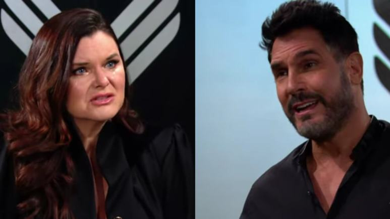 Katie and Bill on The Bold and the Beautiful.